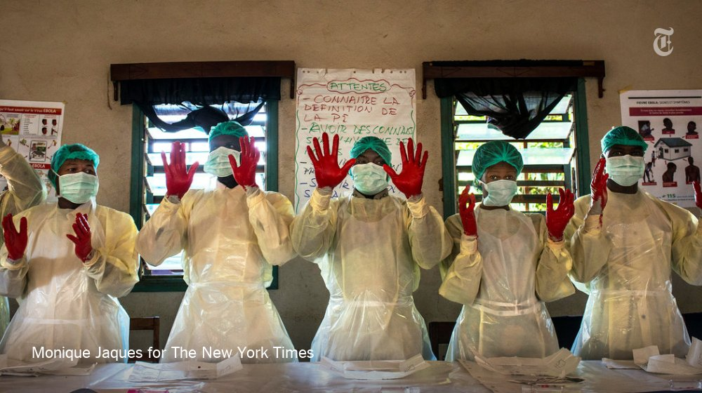 He survived Ebola. Now he's fighting to keep it from spreading