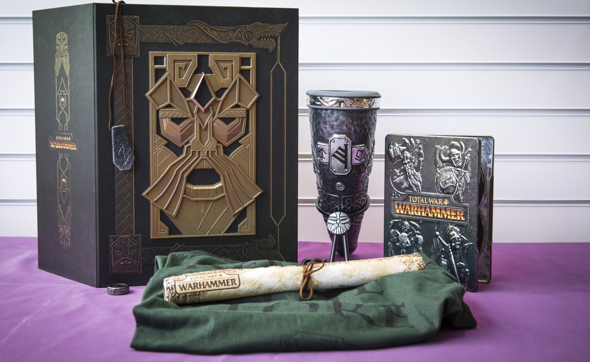 Take the Throne - RT for a chance to WIN a #TotalWarWarhammer High King Edition! Wage War: https://t.co/VxfVdcmLf2 https://t.co/TV388vD0qJ