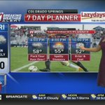 Are you planning to attend the Friday night @SwitchbacksFC game? Dress for showers and cool temps. #cowx #kktv https://t.co/jjb00VzQxZ