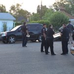 A female in custody after law enforcement find suspect veh. near Jefferson and Pitkin. https://t.co/PCt8jfta0k