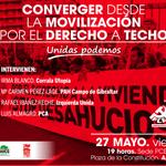 El PCA organiza un acto sobre la convergencia político-social entorno al derecho a techo https://t.co/2m7soU7gge https://t.co/DXri2nFHHk
