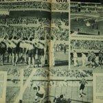 #UnDiaComoHoy, el 26 de Mayo de 1938 #Peñarol enfrentaba a #RiverPlate en la inauguración del Monumental de Núñez https://t.co/WH9nC1iMHN