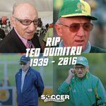 We would like to extend our sincere condolences to the Dumitru family on the passing of Ted Dumitru. #RIPTed https://t.co/upQxI3Epiu