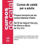Busques un curs de #català? Dilluns 30 de maig sobren les inscripcions per als cursos intensius destiu #Salt https://t.co/ZD71ejxVcN