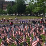 Volunteers planted 37,000 American flags on Boston Common to honor Mass. military heroes https://t.co/YweLFnIPI6 https://t.co/HTo2QEeb0z