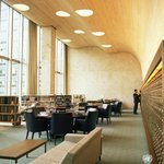 #TBT: 1964 The Woodrow Wilson Reading Room @UNLibrary w/ its 22 feet high white pine curved ceiling https://t.co/7eC7NMYQzJ