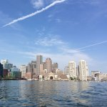 A beautiful morning to head out into our back yard #BostonHarbor #beautiful #feelslikesummer #ocean #boston https://t.co/gBUrZ1aZ5P