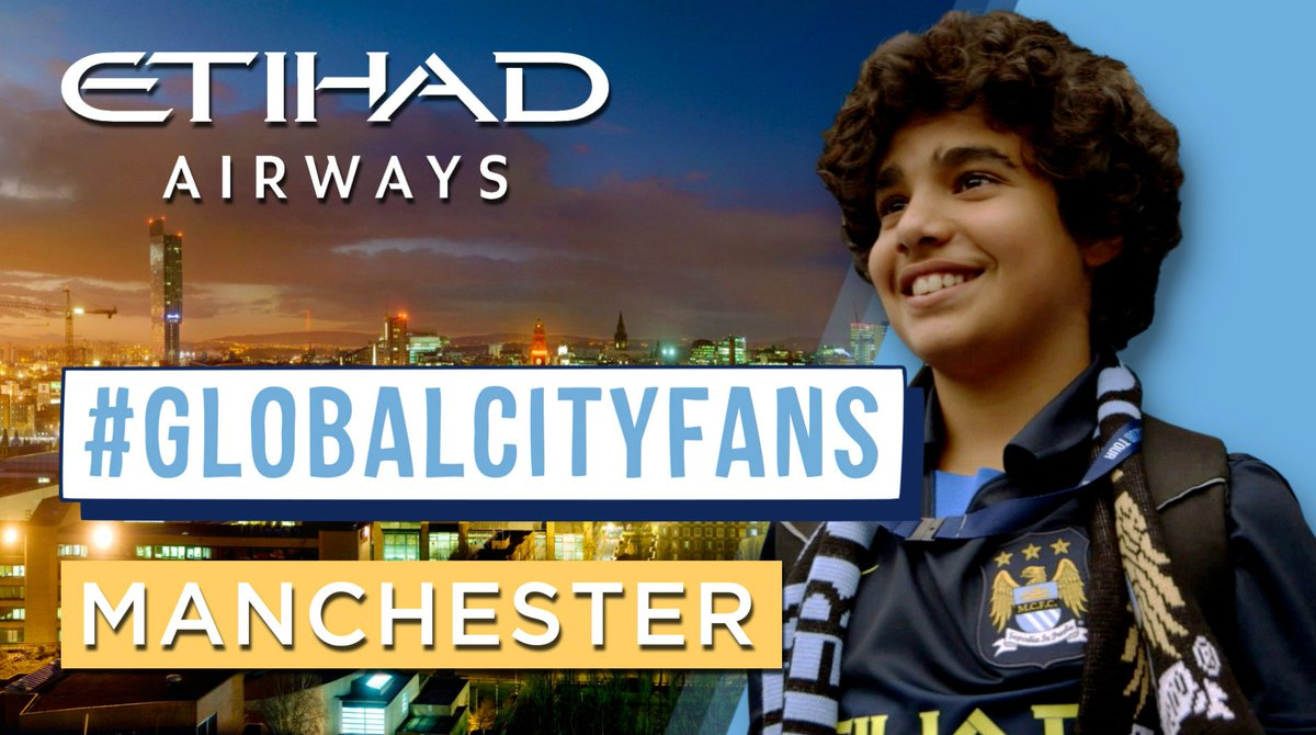 RT @MCFC: Home is where the 💙 is, so Manchester is the last stop on our GlobalCityFans tour! 📺