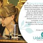 Tenemos claro cual ha de ser la postura de #Bilbao al respecto de los refugiados, sirios en este caso. #VergUEnza https://t.co/WyMlexTfpG