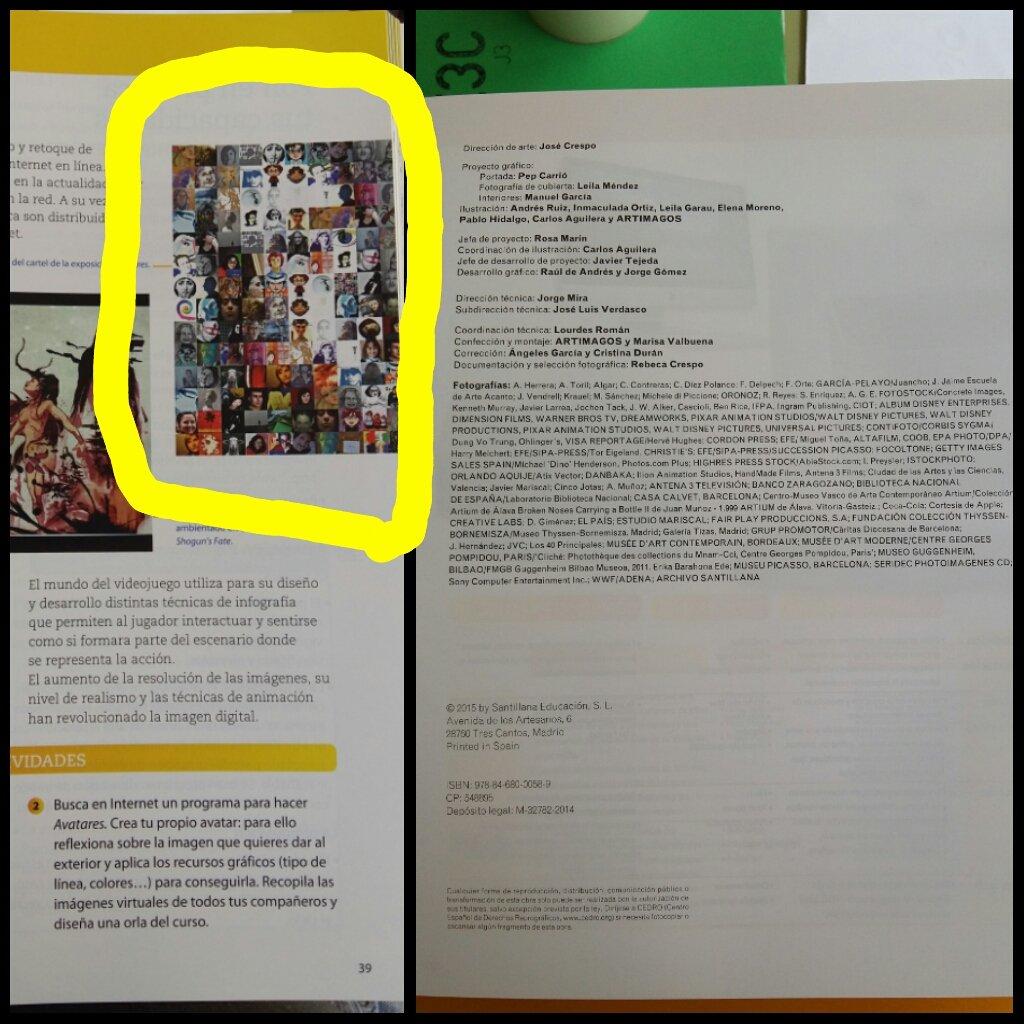 @SANTILLANA_es sigue sin reconocer mi autoría del cartel de Avatares 2.0 ni en imagen ni en los créditos: https://t.co/XBzANxHMuA