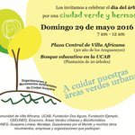 """Celebremos el Día del Árbol sembrando un araguaney. El 29/05 iniciamos nuestro """"Bosque Educativo"""". ¡Participa! https://t.co/YIkm6CTlkx"""