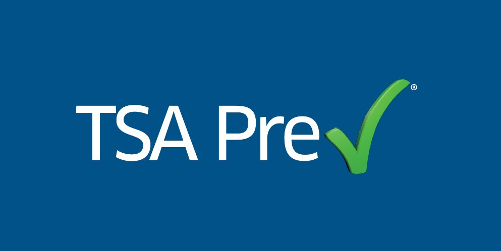 Effective today, we are expanding TSAPrecheck options for guests Cc @TSA