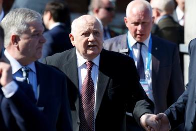 Ukraine bans Mikhail Gorbachev after Crimea comments