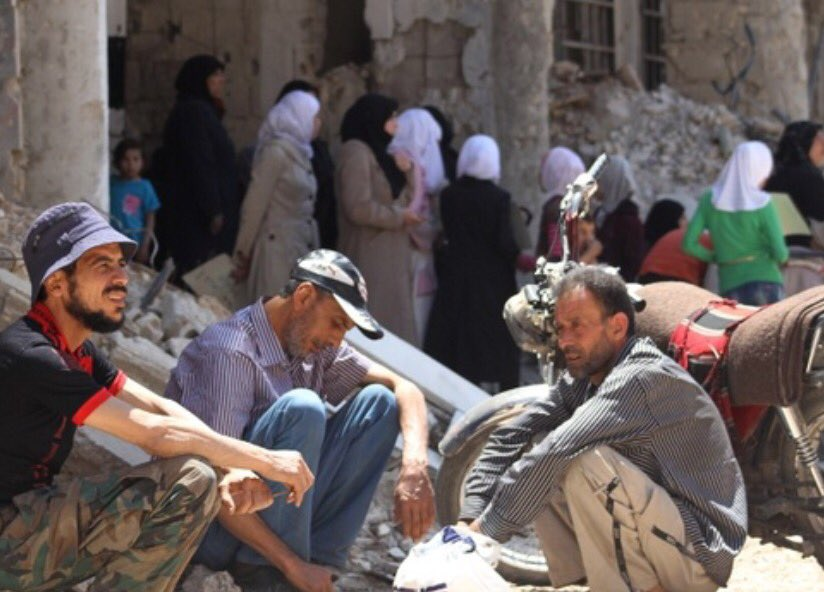 #Syria @AmbassadorPower: no time for #Moadamiya #humanitarianaccess question @MSF @MSF_USA @ICRC @UNOCHA @OCHA_Syria