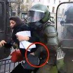 Esta es la policía REPRESIVA del RÉGIMEN Chileno abusiva y sin control contra la juventud estudiantil https://t.co/AHBVHBCMOS