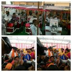 Distributed e-Rickshaws in Amethi today with citizen support thru PM Mudra Yojana #VikasParv https://t.co/JnTrodaNb6