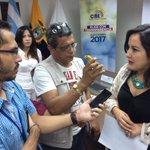 Consejera MarcelaParedesE atiende entrevistas con medios de Guayaquil luego de reunión con colectivos LGBTI https://t.co/mPNSg5Qgvk