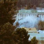En estos momentos represión al interior de la Universidad de Concepción #marchaEstudiantil foto @prebolledoe https://t.co/0DFcNnH77M