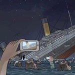 Se o Titanic fosse nos dias de hoje #TitanicNaRecord https://t.co/QqdLsCHZOS