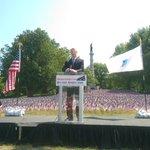 Massachusetts Governor Charlie Baker at the @MMHF02111 Flag Garden Dedication #Boston Common #MemorialDay https://t.co/Rh0CTpj5Of