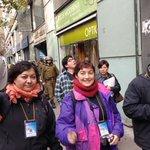 Escoltan la marcha de secundarios @obsDDHHcl vamos en Merced c Mac Iver pacíficamente. #YoApoyoALosSecundarios https://t.co/qNUACjsJ1w