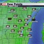 Humidity is kicking in.  Dew points in the mid 60s.  #feelinlikesummer https://t.co/OO2jkrGzUx