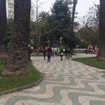 Secundarios se concentran en plaza Victoria #Valpo NO hay autorización a marchar. Carabineros resguarda el sector https://t.co/kCAHW96ZZ1