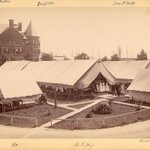 Honoring #MemorialDay #TBT Tent wards on grounds of @The_BMC for soldiers returning from Spanish-American War 1898 https://t.co/2XHSxvfcj7