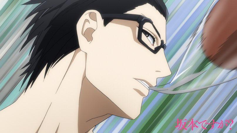 ■この後!■世界一スタイリッシュなTVアニメ「坂本ですが?」第7話のTBSでの放送がこの後2:30から!お楽しみに!【T