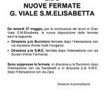 LIDO NUOVE FERMATE G. VIALE S.M.ELISABETTA #actv #Venezia Da venerdì 27 maggio 2016 https://t.co/12EJf1R2DC