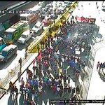 AHORA #PuertoMontt: marcha estudiantil avanzando por Av. Diego Portales, hacia sector #Centro. Tránsito regulado. https://t.co/lxtrqmpcFv