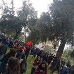 Represión en parque Bustamante https://t.co/kH2okVUrwI