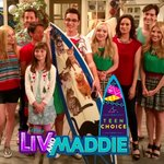 Did you vote today? Tweet My #TeenChoice for #ChoiceComedyTVShow is #LivAndMaddie You get to vote once a day! RT plz https://t.co/MMsVrnjz16