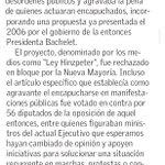 Lee la Carta al Director enviada por @cmonckeberg a #ElMercurio sobre ley anti encapuchados https://t.co/fqztxa85u6 https://t.co/39AQNb6YOf