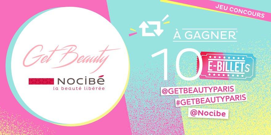 #jeu #getbeautyparis 5x2 places à gagner* RT pr participer +Follow @GetBeautyParis & @Nocibe https://t.co/dHKgGbaOD9 https://t.co/OZDRNOsS9M