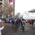 A pesar de la represión estudiantes se toman la alameda https://t.co/JX02vBp222
