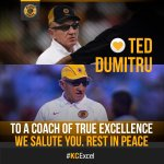 Death be not proud. Our deepest condolences to family, friends & the football fraternity. Rest in peace #TedDumitru https://t.co/jCGnK6jmE0