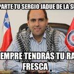 Comparte tu Sergio Jadue de la suerte ???????????? https://t.co/RtAeQSRYG6