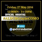 Thank you @visitcomo for being part of ALDUBs journey! The memories will be treasured forever.💛  #ALDUBGrazieCOMO 💨 https://t.co/dftAp95xK6