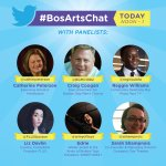 Hello + welcome to #BosArtsChat! The panelists are ready to talk abt the draft Cultural Plan & weigh in. https://t.co/gZbzrv5m2C