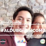 Grazie -- thank you-- .. A simple word that we can give to both of u @mainedcm @aldenrichards02 #ALDUBGrazieCOMO https://t.co/e8CwU997jj