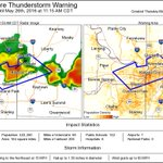 ⚠️ Severe Thunderstorm Warning including Kansas City MO, Gladstone MO, North Kansas City MO until 11:15 AM CDT https://t.co/N29GxHhFI2