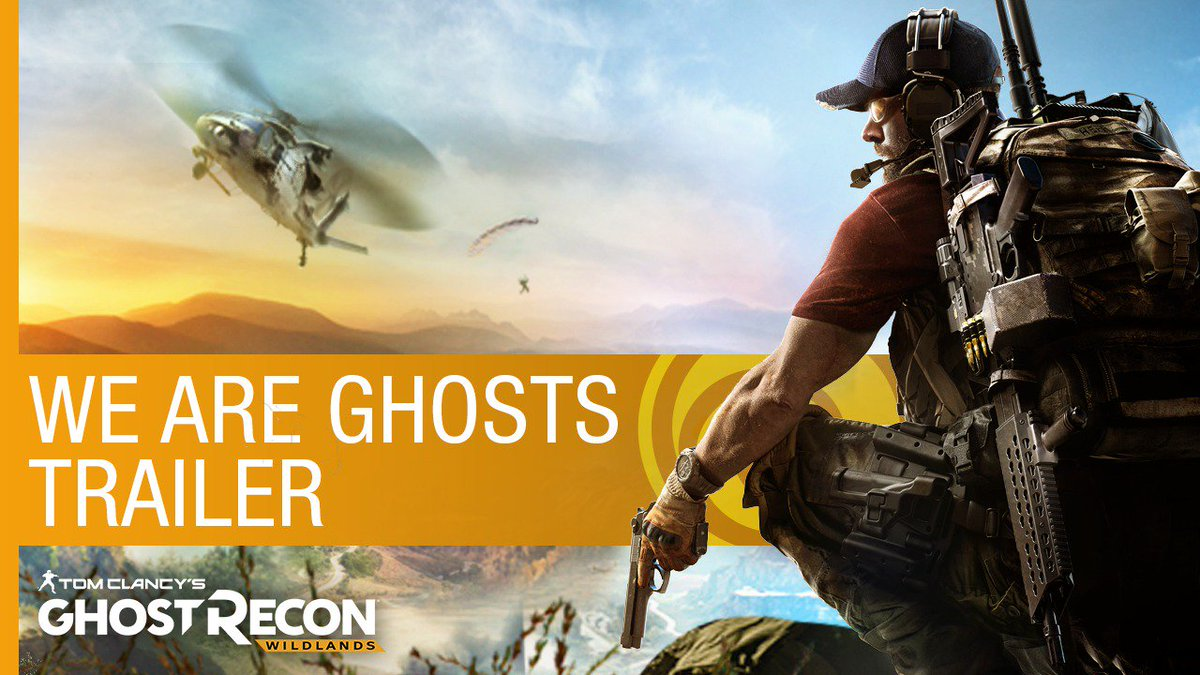 Anything goes in Tom Clancy's Ghost Recon Wildlands. Watch the new trailer now. #GhostRecon https://t.co/uAZv93Jlnh https://t.co/4HO26B89mc
