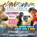 #HangoverPoolParty 🏊🏽🏊🏽Memorial Day Monday May 30th.Doors open @9pm📍5479 Memorial Drive Stone Mountain , GA 30083 https://t.co/a6tjzCDFBN