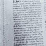 ???? El llamado a #EleccionesOlimpia2016 fue publicado de manera oficial el día de ayer. https://t.co/yRrV7nV7Ur