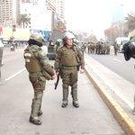 Chile: Estudiantes se toman la alameda y resisten represión policial https://t.co/avQT4zqhad