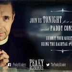 Join us TONIGHT for a live Q&A with @PaddyConsidine at 8.15pm. Get your questions in NOW! #PeakyBlinders https://t.co/BJOpwu7Co2