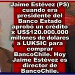 J Estévez, el director de Banco de Chile que validó las turbias cuentas de Jadue en la ANFP https://t.co/rkAzYb0euT https://t.co/BhlfjmGoZC