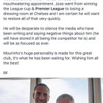 What a man @rioferdy5 is ! Love that guy ! Hes his message on FB ! Couldnt agree more ! https://t.co/RDvIyZkxQS