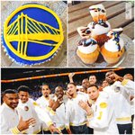 Lets go #warriors! #dubnation #cupcakes here today! #dubnation lets support them and get loud tonight!! ???????????? #jatgc https://t.co/QcvWoVCfP6